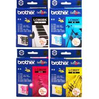 原装兄弟Brother LC960 系列黑色彩色墨盒 LC960BK黑色 LC960C青色 LC960M 品红色 LC