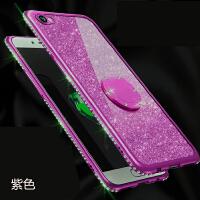 送钢化膜苹果6S手机壳iPhone6保护套A1586指环防摔女挂绳A586带钻