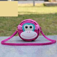 棉布艺立体大嘴猴个性书包儿童宝宝包女童小孩卡通可爱单肩斜挎包