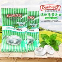 费罗伦 澳大利亚进口零食达宝蒂Double D 硬糖果桉叶薄荷糖不含糖清爽薄荷糖150g