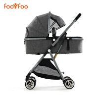 婴儿推车高景观可坐躺折叠轻便携式双向宝宝儿童简易