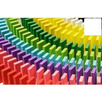多米诺骨牌大号多米诺骨牌500片1000片玩具儿童学生比赛桶装积木制A
