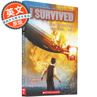 英文原版童书 I Survived the Hindenburg Disaster 1937 幸存者系列1937兴登堡