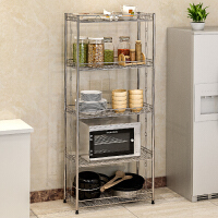 思故轩 不锈钢厨房置物架 浴室卫生间角架 卧室落地层架 收纳架子Z655
