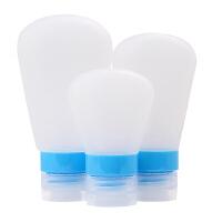 旅行分装瓶套装洗漱包洗发水沐浴露乳液旅游化妆用品硅胶空瓶