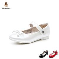 暇步士Hush Puppies童鞋18新款女童时装鞋时尚优雅公主鞋校园女孩学生鞋 (5-10岁可选)DP9286