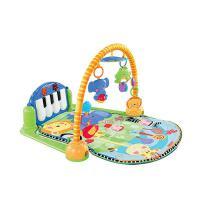婴儿健身架脚踏音乐钢琴健身器 早教玩具 0-18个月W2621 抖音