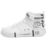 男鞋冬季潮鞋高帮鞋子休闲运动棉鞋高邦嘻哈韩版潮流百搭板鞋