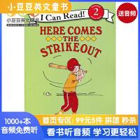 英文原版 Here Comes the Strikeout! 三振出局![4-8岁]