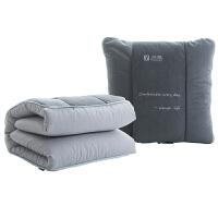 抱枕被子两用午睡毯车载沙发汽车靠枕头办公室加厚靠垫空调被