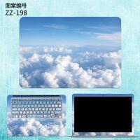 惠普245/246/440 G5/G6笔记本外壳保护贴膜战66 pro G1电脑贴纸畅游人14/15