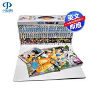 龙珠Z 1-26卷 白金版套装附双面海报 英文原版 Dragon Ball Z Complete Box Set 1-2