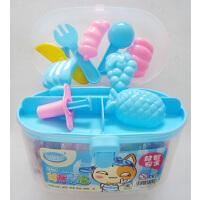 12色18色24色3D不干无毒幼儿童橡皮泥彩泥工模具套装DIY手工制作