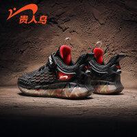 【品牌�惠:68元】�F人�B男童鞋子2020年�和��\�有�春秋季秋款椰子夏季透�饩W面�W鞋
