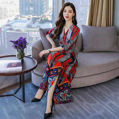 连衣裙2018年春季H型韩版时尚休闲舒适修身气质简约实用可爱