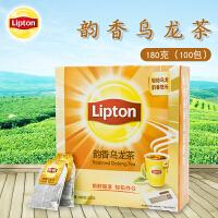 Lipton/立顿韵香乌龙茶包醇香茶叶180克 冲饮袋泡茶100包大包装