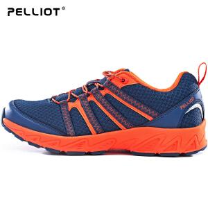 【五一出游特惠】法国PELLIOT户外登山鞋男女夏防滑跑步运动鞋情侣网面透气徒步鞋