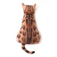 猫咪抱枕公仔3D可爱毛绒靠垫女生睡觉卡通沙发靠垫大号卧室靠枕