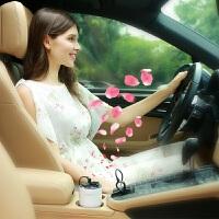 车载香薰机汽车空气净化器点烟器USB车充杯座车用除异味除臭香薰
