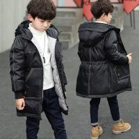 №【2019新款】冬天穿的男童棉衣冬装儿童中长款羽绒男孩棉袄加厚外套中大童
