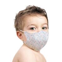 伊藤良品立体无纺口罩 防尘/PM2.5儿童口罩 防霾 附4片滤片/婴儿口罩