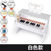 ?宝丽儿童电子琴带麦克风女孩多功能早教音乐钢琴礼物1-3-6岁?