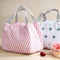 保温饭盒袋子便当包手提包防水女包带饭保温袋大号铝箔加厚