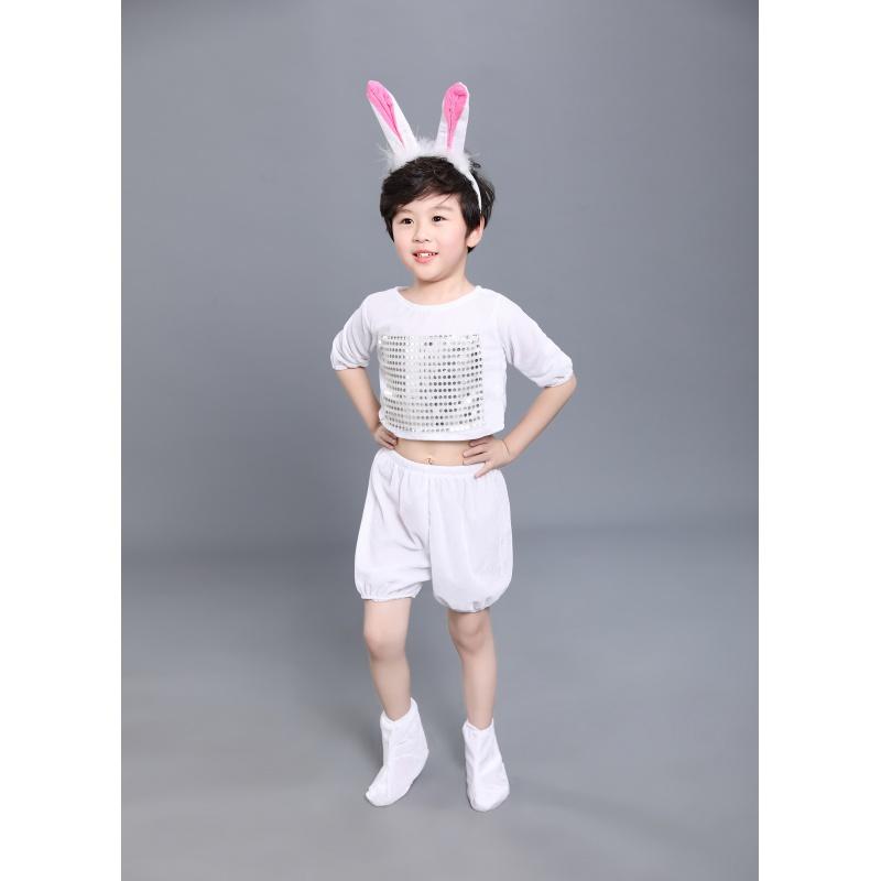 女童六一儿童动物演出服表演服幼儿园小兔子小鸡老虎舞台服装 发货周期:一般在付款后2-90天左右发货,具体发货时间请以与客服协商的时间为准