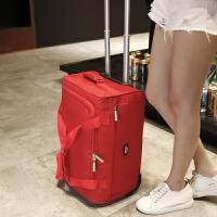 站得稳不侧翻 旅行包男可折叠拉杆包女多功能水行李包登机包
