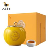 八�R茶�I 云南普洱茶熟茶散茶�|湖之光永�S源��瓷*盒�b茶�~150克
