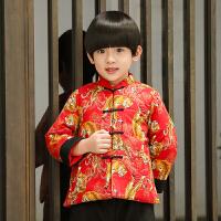 男童宝宝唐装冬婴儿周岁礼服儿童汉服中国风新年装套装过年服