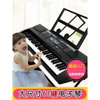 女孩玩具宝宝钢琴61键儿童电子琴1-3-6岁多功能音乐初学