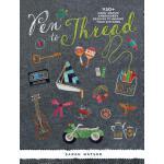 【预订】Pen to Thread: 750+ Hand-Drawn Embroidery Designs to In
