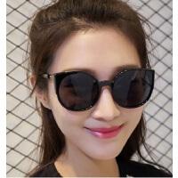 韩版时尚猫眼太阳镜女士复古墨镜5126 男士超轻炫彩太阳眼镜