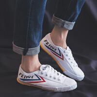 【1件3折】Feiyue/�w�S帆布鞋男女同款田�竭\�有�小白鞋跑鞋�典款501