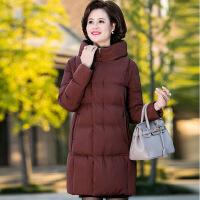 №【2019新款】送妈妈的中年女装冬装棉衣外套妈妈羽绒中老年中长款洋气棉袄