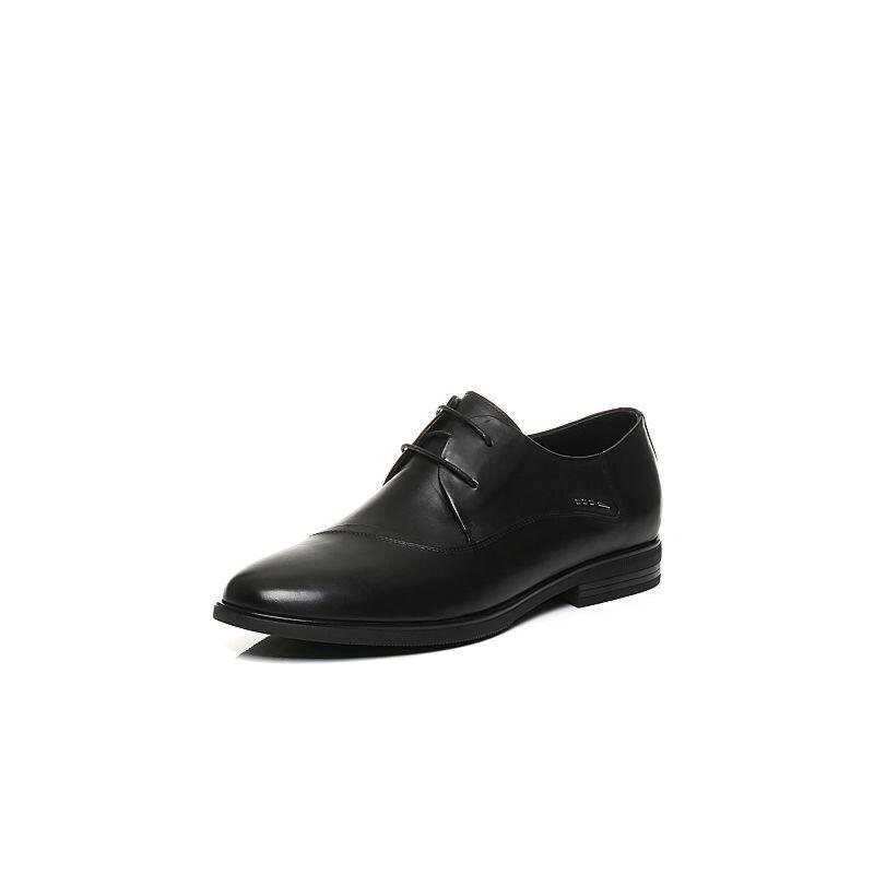 Belle/百丽2017秋季新品专柜同款牛皮男皮鞋4XW01CM7