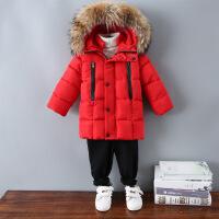 宝宝冬装男0一1-3岁婴幼儿童棉衣冬季女童棉袄外套羽绒服衣服潮款