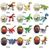 兼容�犯哔�罗纪霸王龙恐龙积木 拼装玩具6-7-8-10岁男孩益智玩具