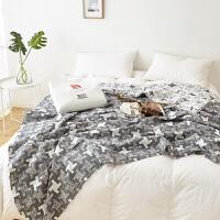 纱布毛巾被单人双人纱布毛巾毯子夏凉被午睡毯空调被