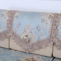 欧式沙发靠背巾沙发垫防滑定做皮布艺沙发全包四季坐垫套