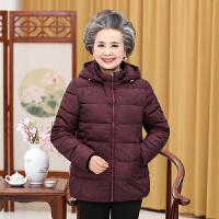 中老年人女装冬装加厚羽绒棉衣60-70-80岁奶奶装老人衣服太太棉袄