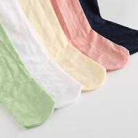 女童丝袜儿童连裤袜中大童连体舞蹈袜子白色学生夏季镂空打底薄款