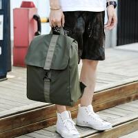 背包男士双肩包休闲旅行背包青年简约韩版小学初中生高中学生书包
