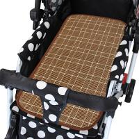 夏季婴儿推车席子藤席新生儿凉席幼儿宝宝BB儿童亚麻童车草席 其它