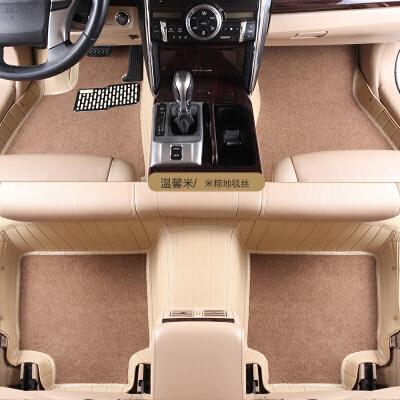 丰田佳美大霸王卡罗拉皇冠汽车全包围专车专用加厚地毯丝草坪丝非双层脚垫
