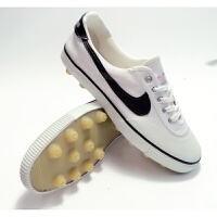 足球鞋三球鞋耐磨底胶钉儿童足球鞋碎钉帆布训练鞋