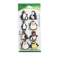 富尼(FUNI)CT-330白板磁片 企鹅集磁粒 磁贴 办公教学 冰箱贴