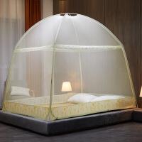 蒙古包蚊帐 1.5米床双人家用1.8x2.0双开门加密1.2m学生宿舍