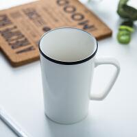 北欧创意陶瓷情侣漱口杯 简约刷牙杯子洗漱杯牙杯情侣牙刷杯牙缸